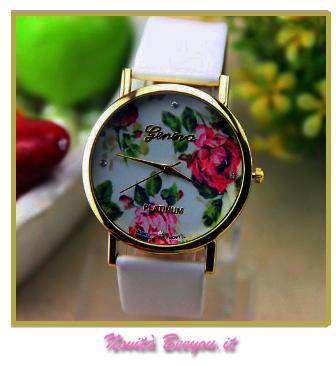 orologio fiori