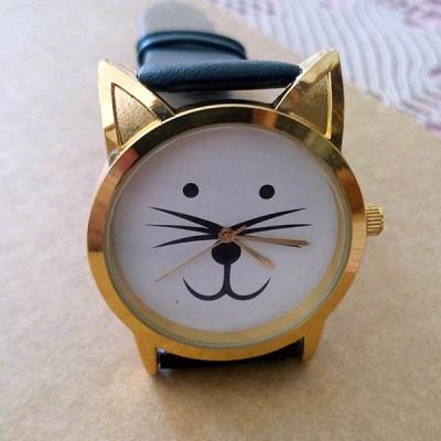 orologio donna gatto