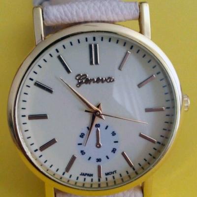 Orologio Donna geneva Classico panna