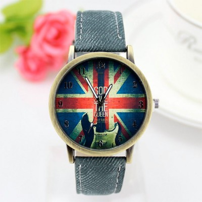 orologio god save the queen London style black