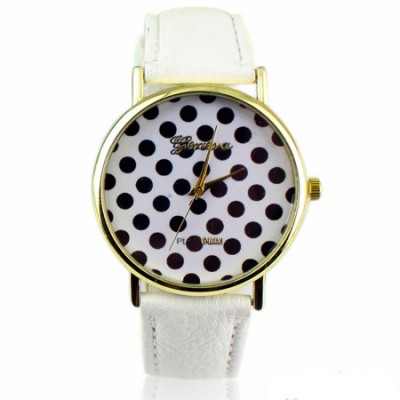 orologio donna geneva pois bianco